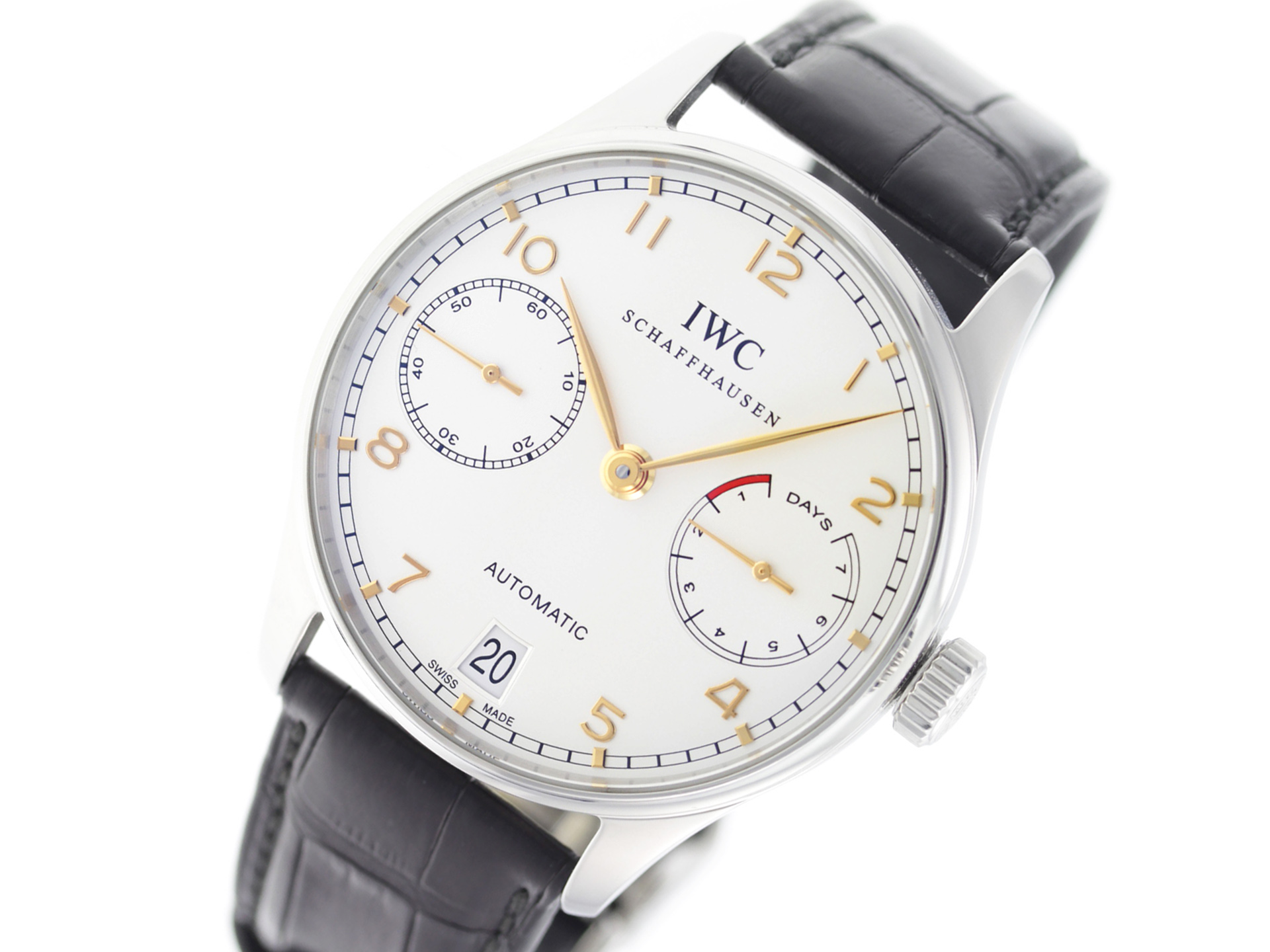 IWC Portuguese IW500114 • Precision Watches   Jewelry 840dde311f