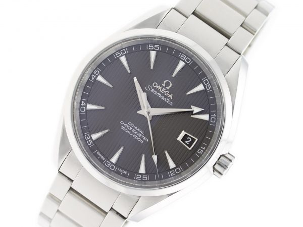 Omega - grey dial - precision watches