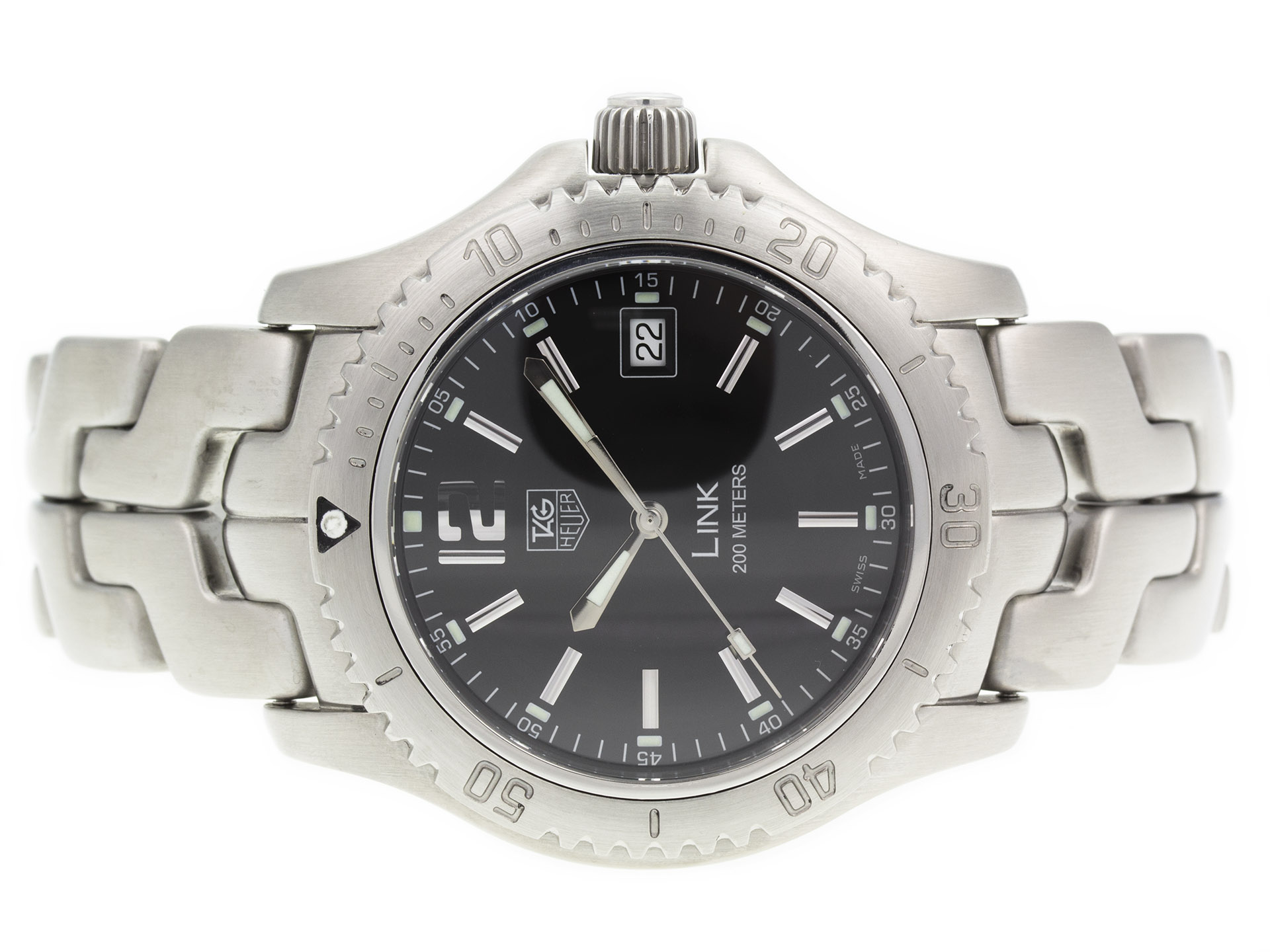Tag heuer link wt1110 ba0550 precision watches jewelry for Tag heuer d link