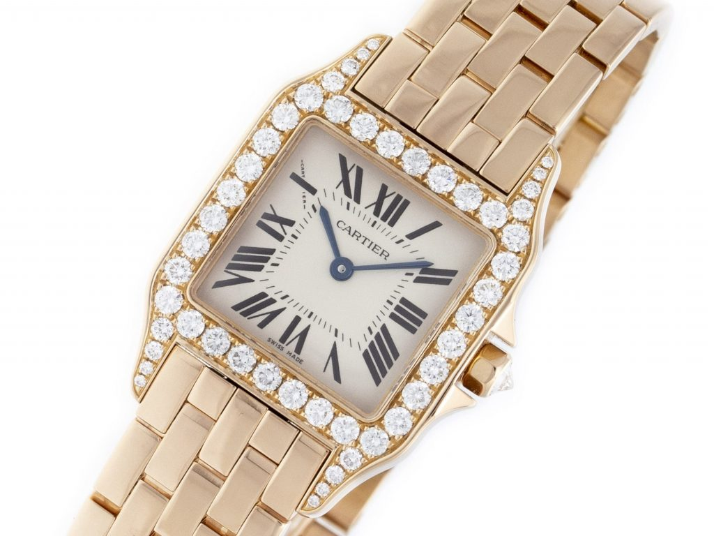 92da7339318 Cartier Santos Demoiselle WF9007Z8 • Precision Watches   Jewelry
