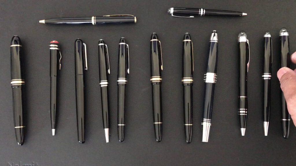 modern montblanc pens meisterstuck