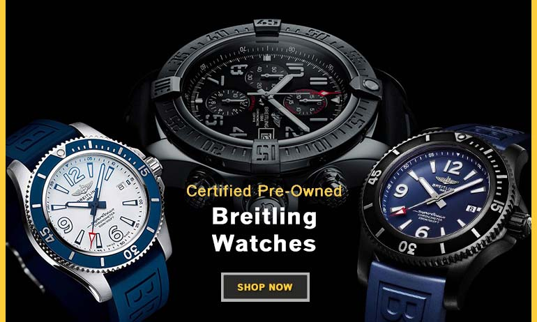 Certified PreOwned Breitling Banner