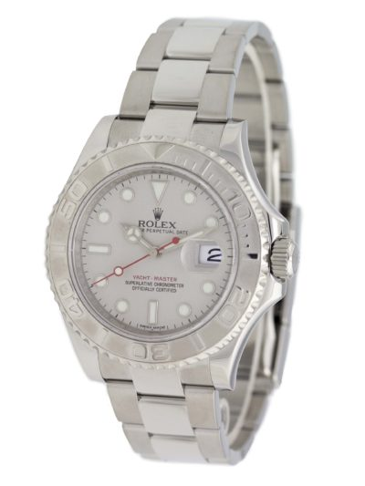 rolex 904L stainless steel yachtmaster watch