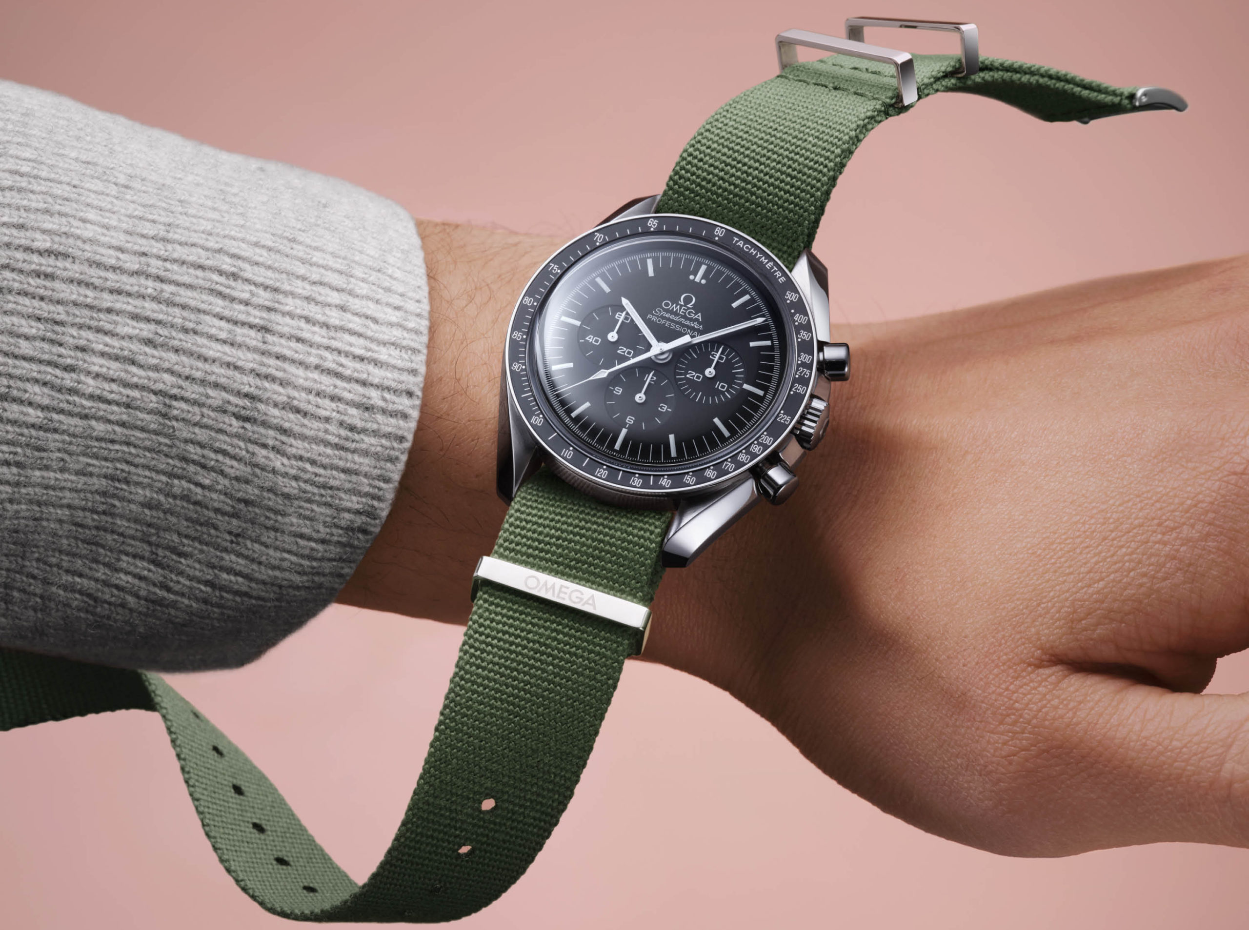 Omega Watch New NATO Green Watch Strap