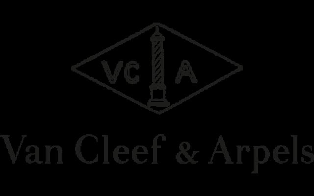 van cleef and arpels transparent logo