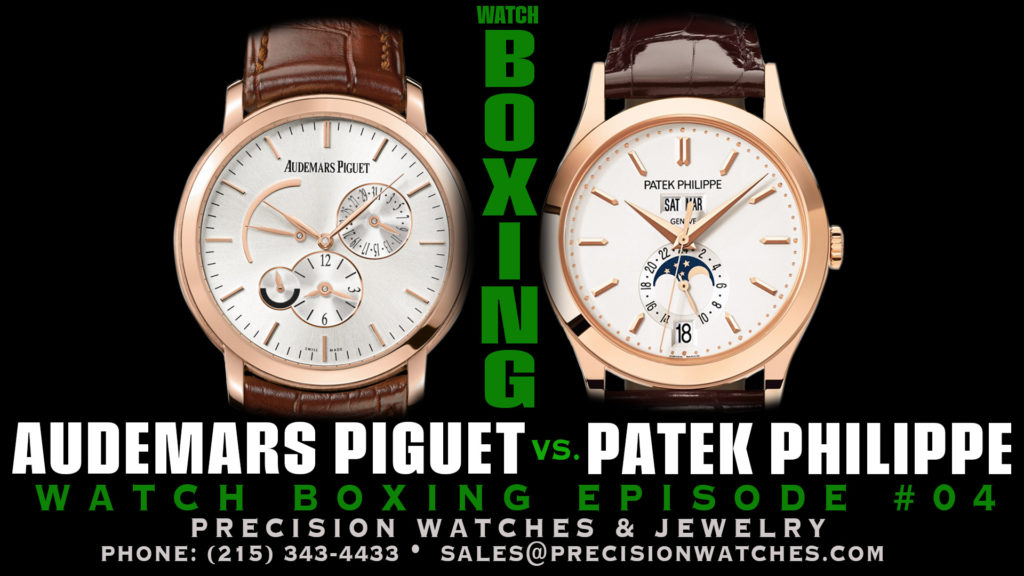 watchbox+ing episode 4 - audemars piguet vs patek philippe