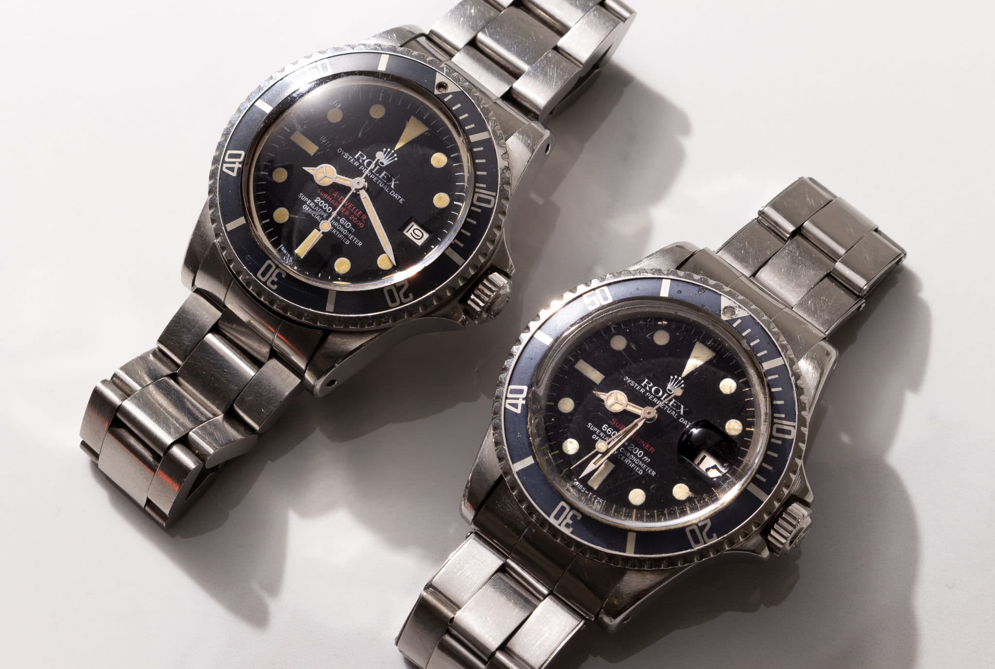 sell my rolex double red