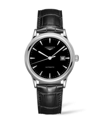 longines flagship 40mm stainless steel