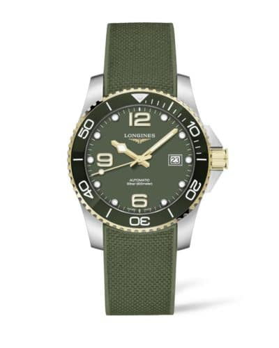 longines hydroconquest 41mm green