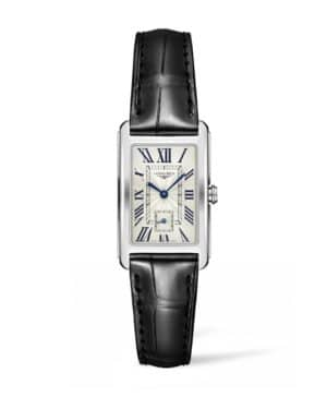 longines dolcevita 23mm white dial watch