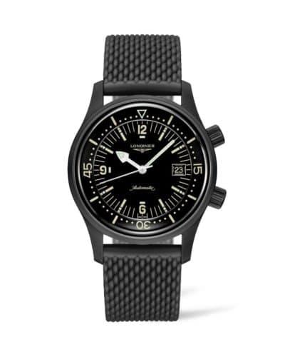 longines legend diver watch 42mm