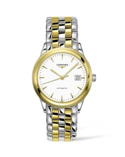longines flagship 40mm stainless steel pvd