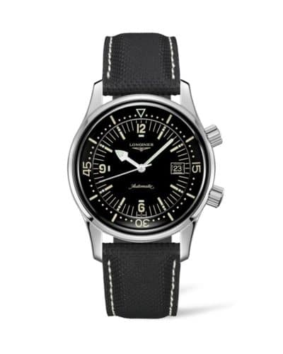 longines legend diver watch 42mm automatic