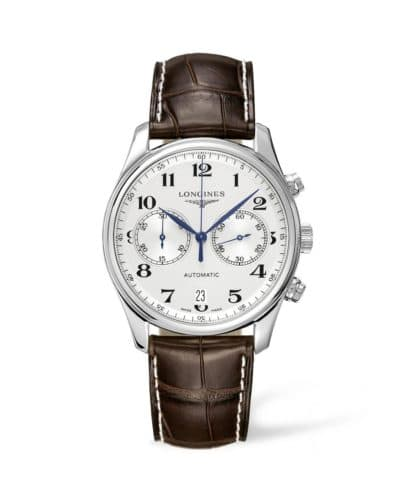 longines master collection 40mm chronograph
