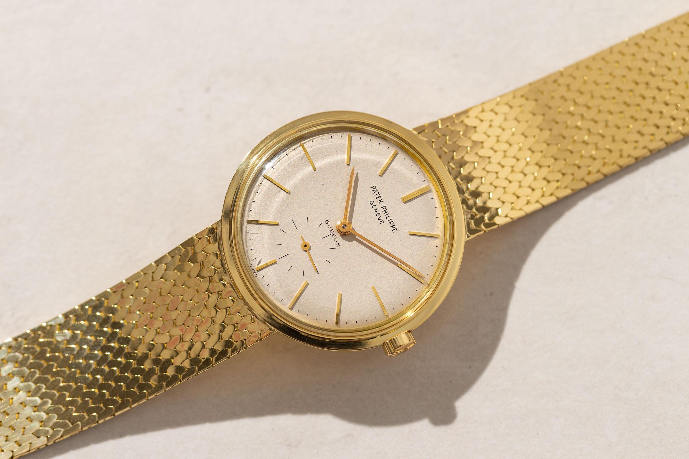 Patek Philippe Gold Vintage Watch
