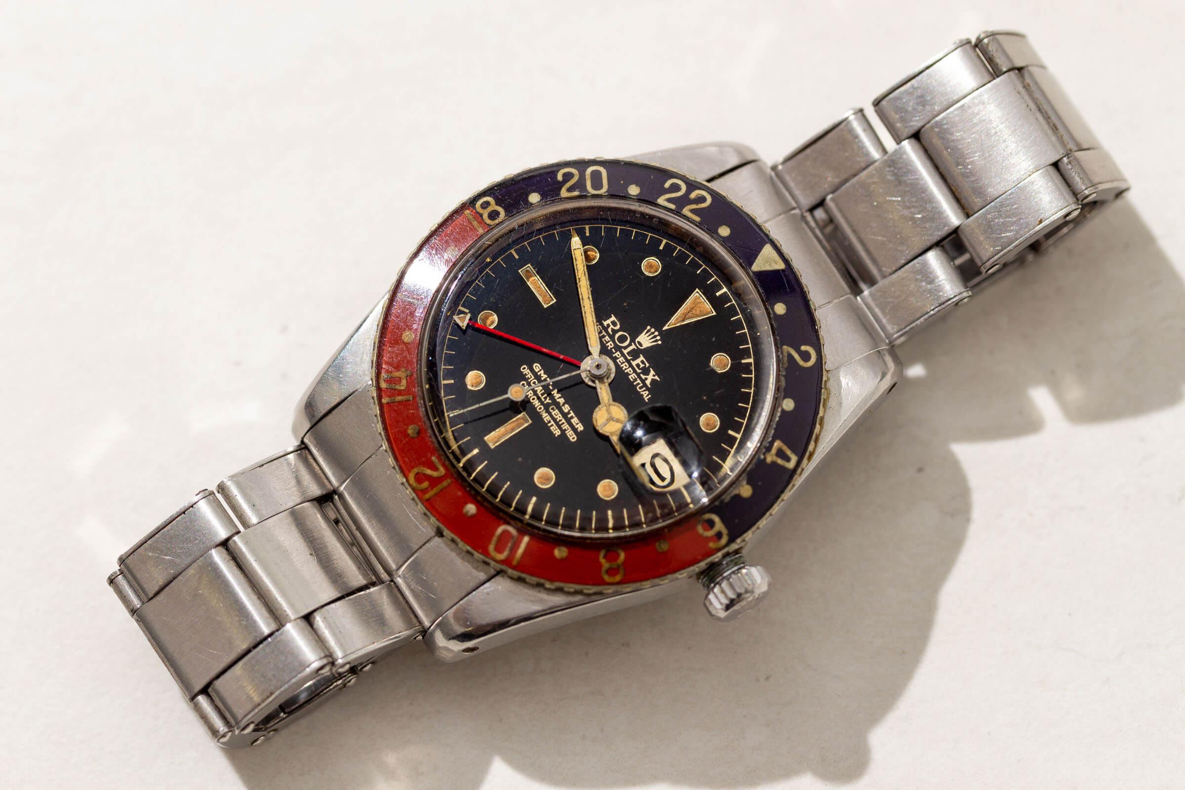 Rolex-Vintage-GMT-Master-Bakelite
